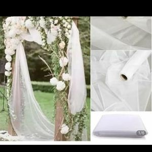 New. organza tulle rolls& table skirts